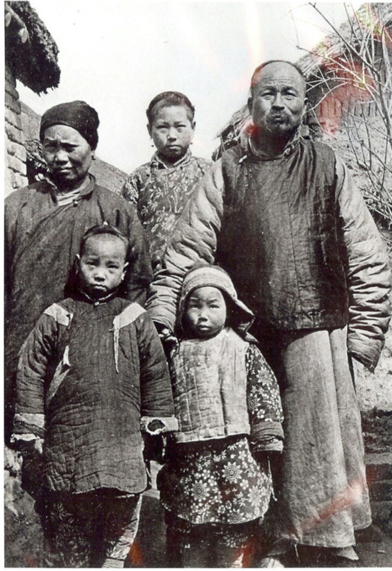 The Chinese Jewish family of Zhao Zufang in Kaifeng.
