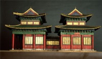The model of Kaifeng synagogue